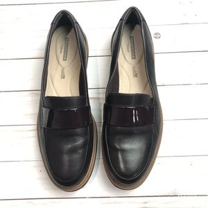 Collection by Clarks Brown Loafers Size 10
